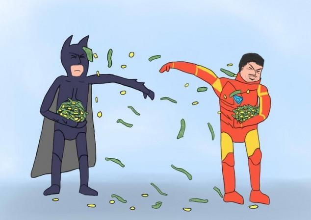 Os 10 personagens mais ricos dos quadrinhos (+TV+cinema) (1/6)