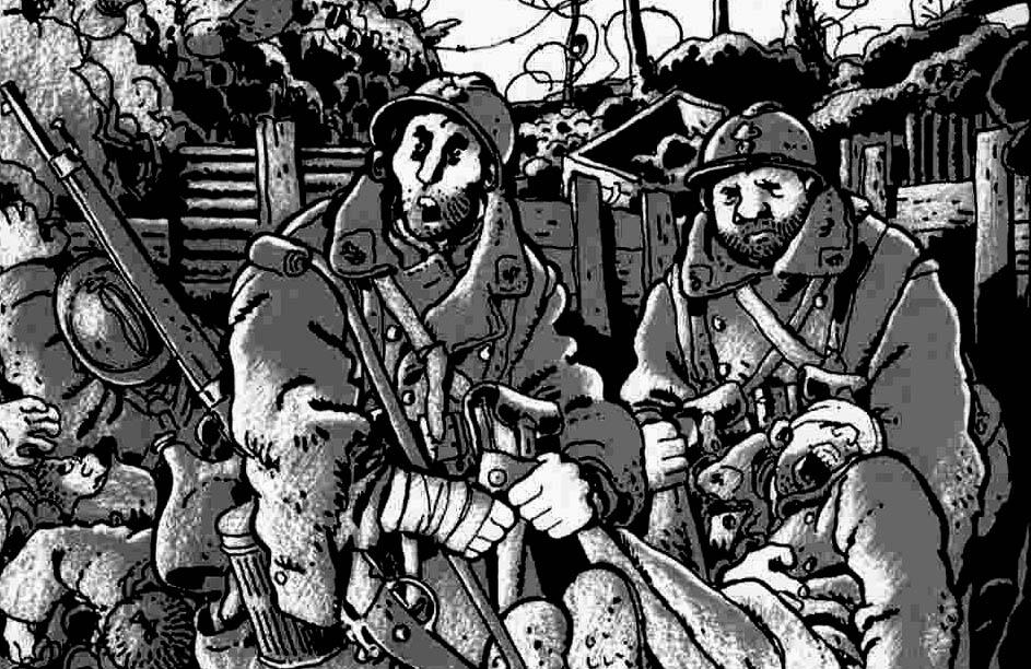 A Primeira Guerra Mundial em Quadrinhos: Era a Guerra das Trincheiras de Jacques Tardi (3/5)