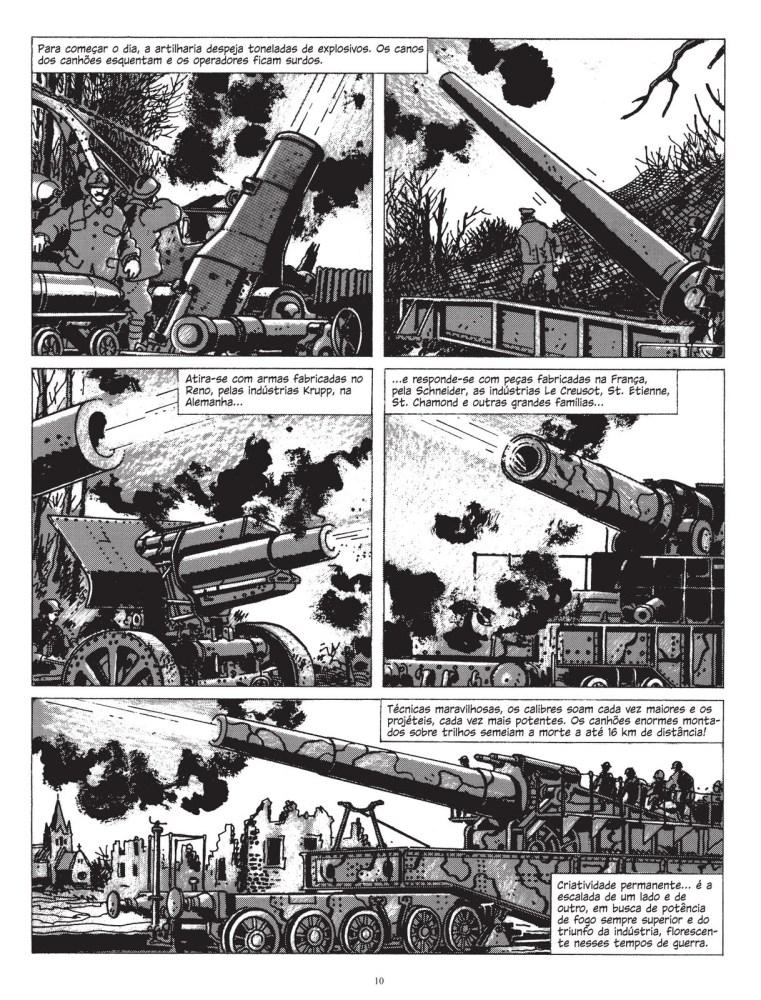 A Primeira Guerra Mundial em Quadrinhos: Era a Guerra das Trincheiras de Jacques Tardi (4/5)