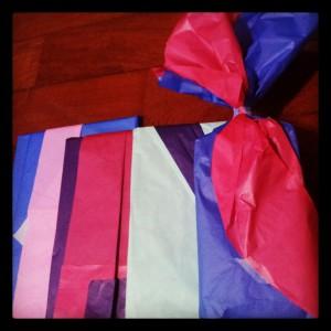 Os presentes que entreguei no natal
