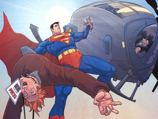 Superman-Birthright-Helicopter