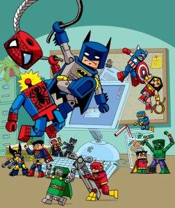 É quase como a disputa de quem é melhor: DC ou Marvel...