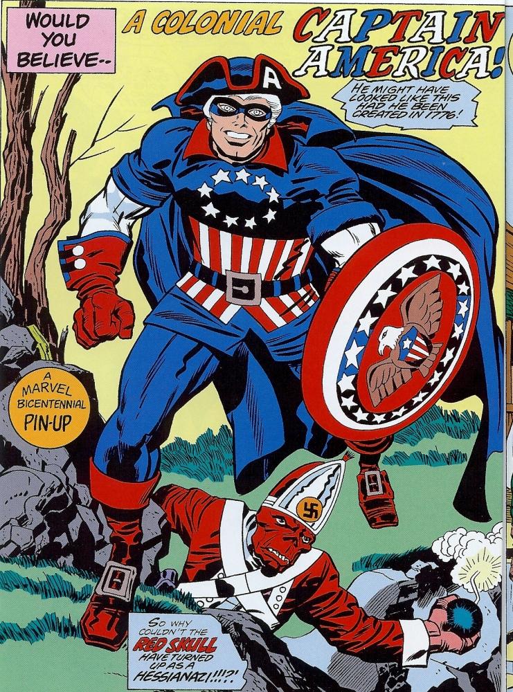 O vaqueiro da liberdade : Capitão América e o destino manifesto (2/6)