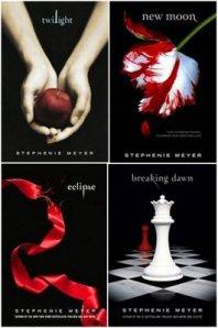 Twilight saga capa livros
