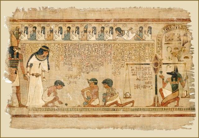 será que os egípicios já faziam um proto quadrinho?