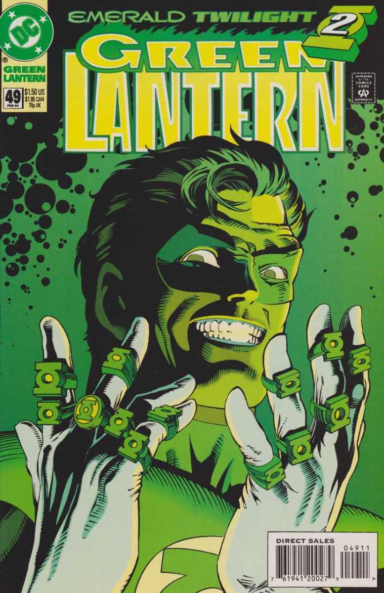 Lanterna Verde- Crepúsculo Esmeralda, uma lição que você nunca quis aprender