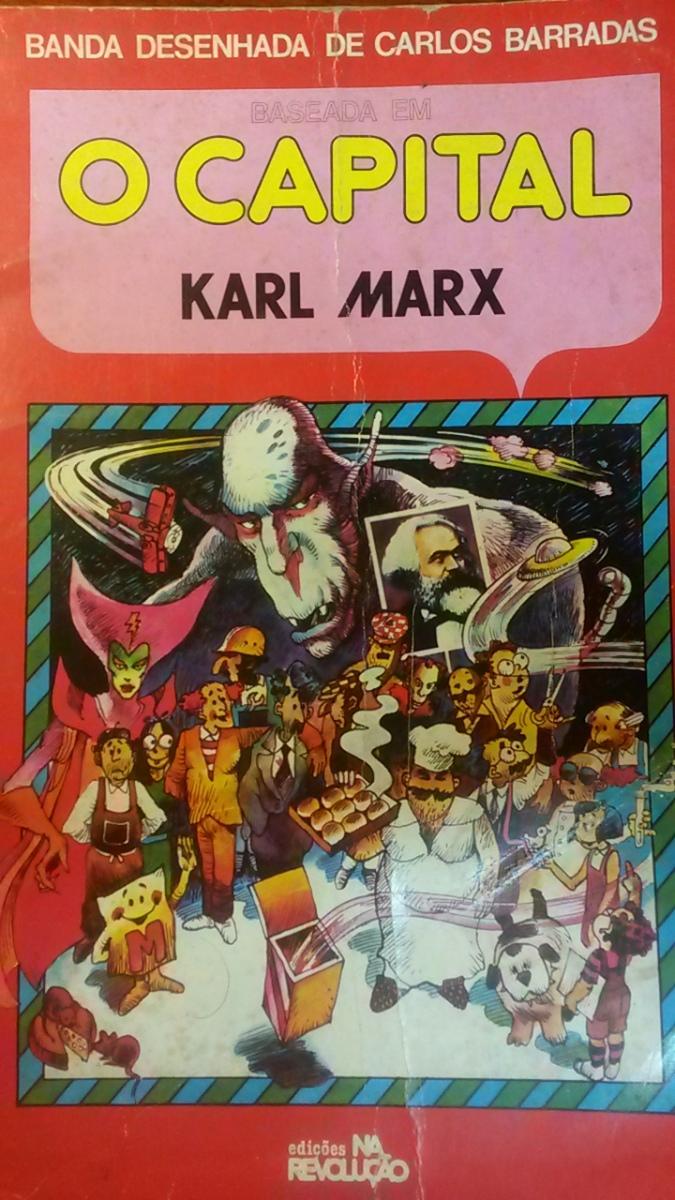 O Capital, de Karl Marx, em quadrinhos! Adaptação, discurso e ideologia