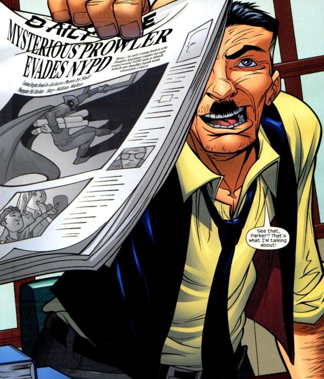 Todo mundo precisa de um John Jonah Jameson para nos ajudar no que escrever... Se bem que ele é bem sensacionalista...