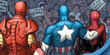Marvel-Captain-America-Iron-Man-Embrace-Spider-Man