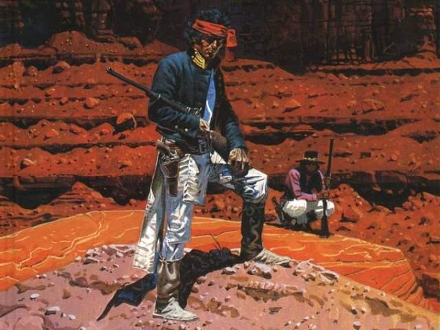 Capa de uma das edições especiais, feita com base em técnicas não convencionais aos quadrinhos como a tinta óleo