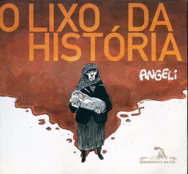 Angeli - O lixo da história, capa