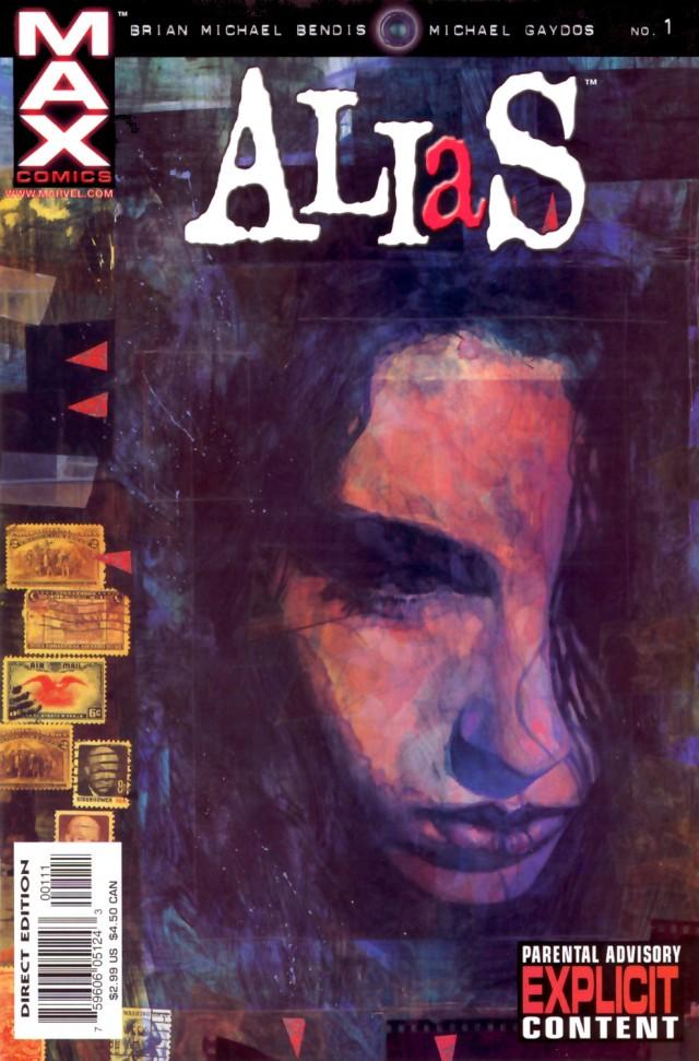 capa da primeira edição de Alias