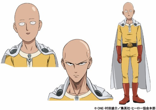 Faces de One Punch Man