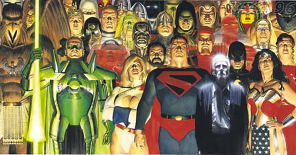kingdom-come-2-cover-painted-art-alex-ross-superman-power-girl-green-lanter-review