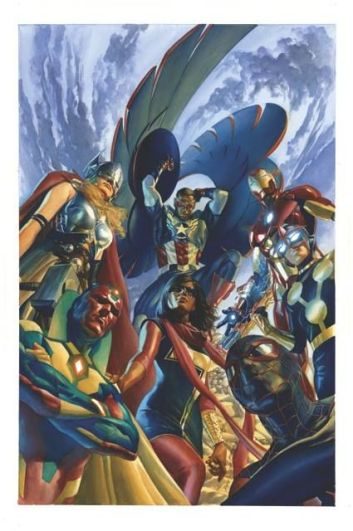 Capa de All-New All-Different Avengers #1