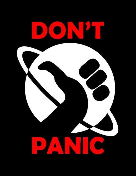 Apenas não entre em pânico
