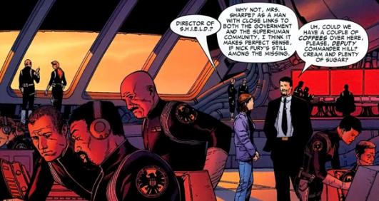 Director-of-SHIELD iron man