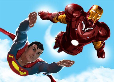 superman iron man