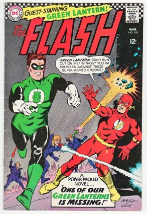 Flash-and-Green-Lantern-Silver-Age