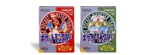 Capas da versão japonesa original. Nem Pokémon chamavam direito!