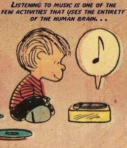 """""""Ouvir música é uma das poucas atividades que utiliza a totalidade do cérebro humano."""""""