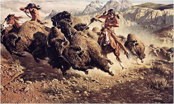 hunting_buffalo