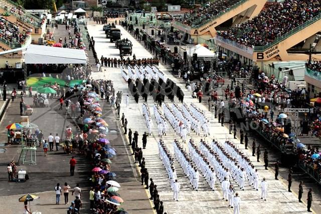 Exercito/Marinha-Desfile de 7 de Setembro/Manaus