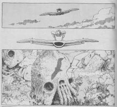 Kaze no Tani no Nausicaa (Nausicaa do Vale dos Ventos - mangá -1982)