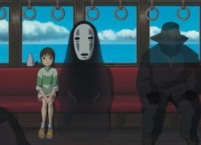 Chihiro e Kaonashi