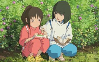Chihiro e Haku