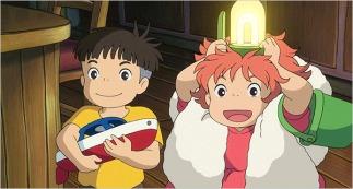 Sosuke e Ponyo