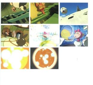 Esta animação com os personagens Kaikai e Kiki lembra aberturas de animês, talvez ela seja abertura da empresa de Takashi Murakami. Eles parecem estar numa espaço nave no formato esfera e viajam pelo seu mundo e/ou dimensões.