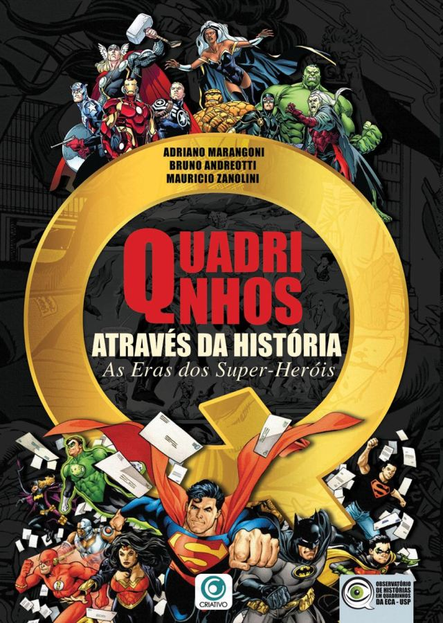 Lançamento do livro Quadrinhos Através da História - As Eras dos Super-Heróis + Palestra