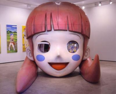 MR. Strawberry Voice, 2007 FRP, iron, various materials. 295 x 266 x 286 cm