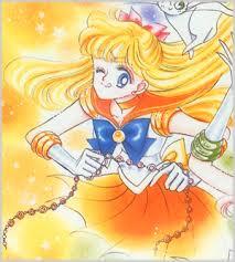 Sailor Venus com Artemis