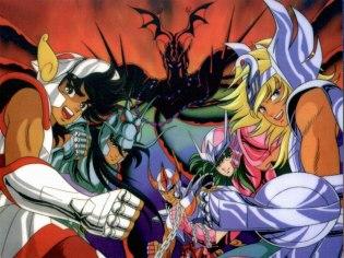 Cavaleiros do Zodíaco (1986) criado por Masami Kurumada