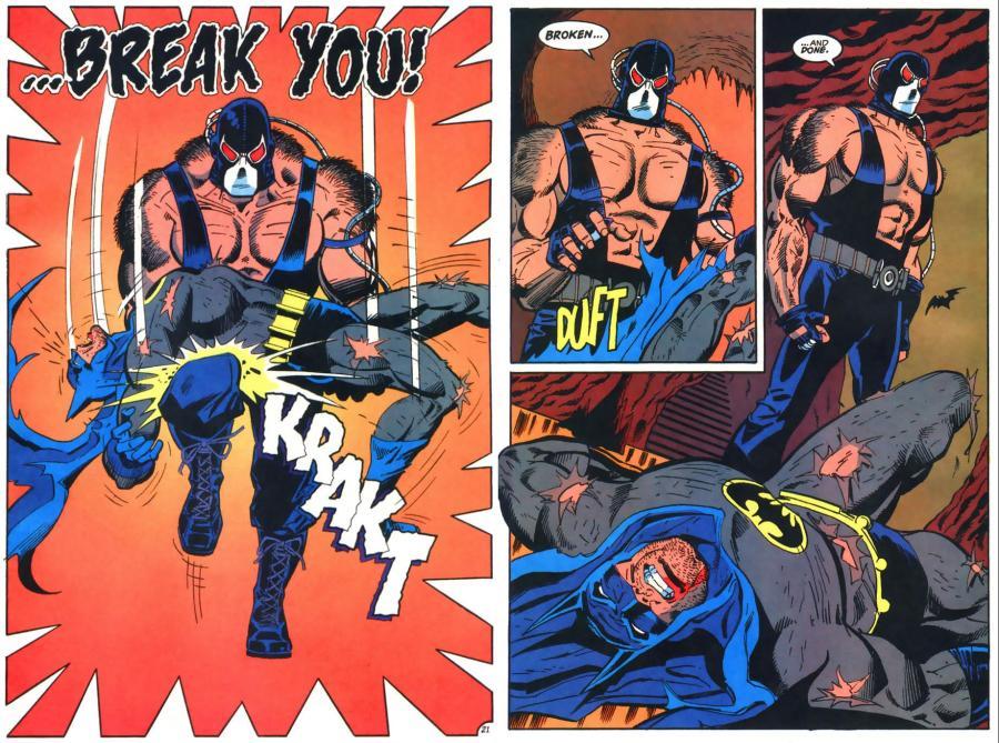 Resultado de imagem para bane broke batman comic