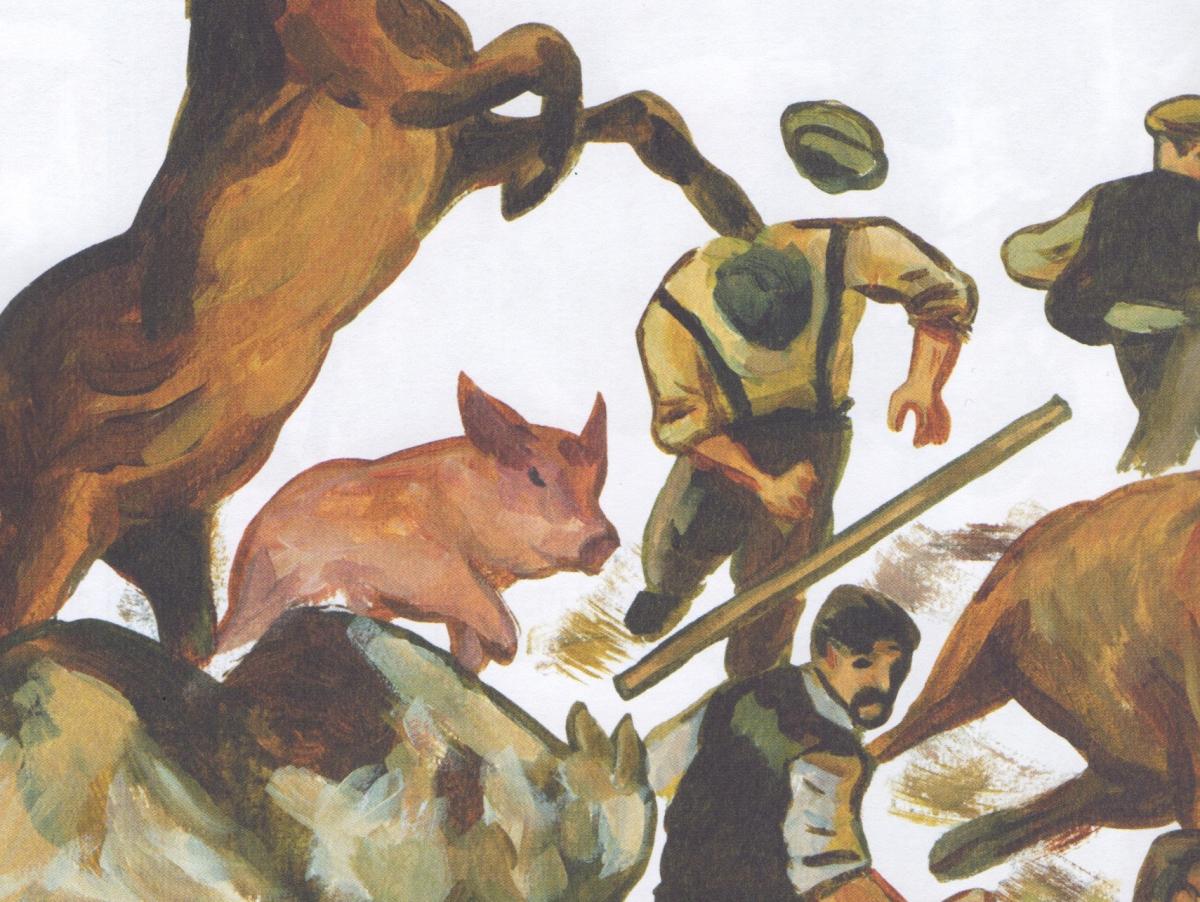 A Revolução dos Bichos impressionista de Odyr Bernardi