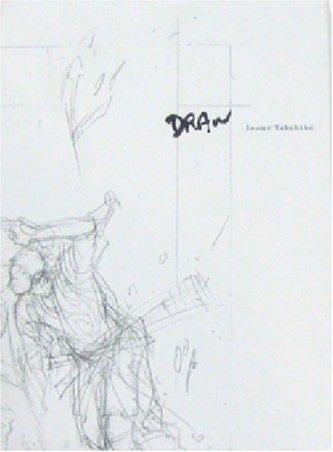 Livro Draw de Inoue Takehiko - na capa é um esboço do desenho desse mangaká