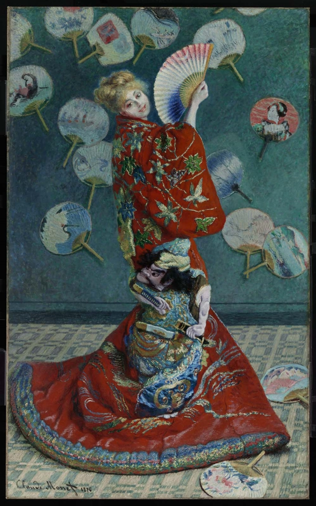 Camille Monet in Japanism