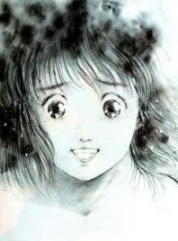 Noriko Takaya, de Gunbuster by Haruhiko Mikimoto