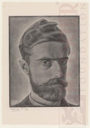 Autorretrato. Litografia. 1929