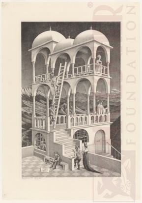 Belvedere. Litografia. 1958