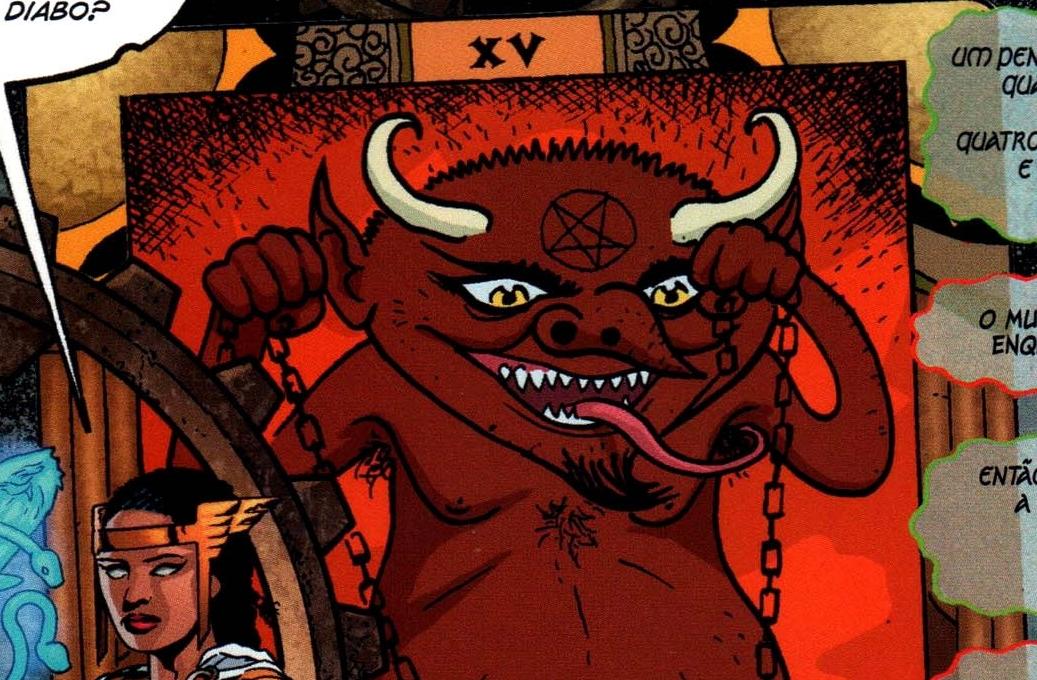carta diabo