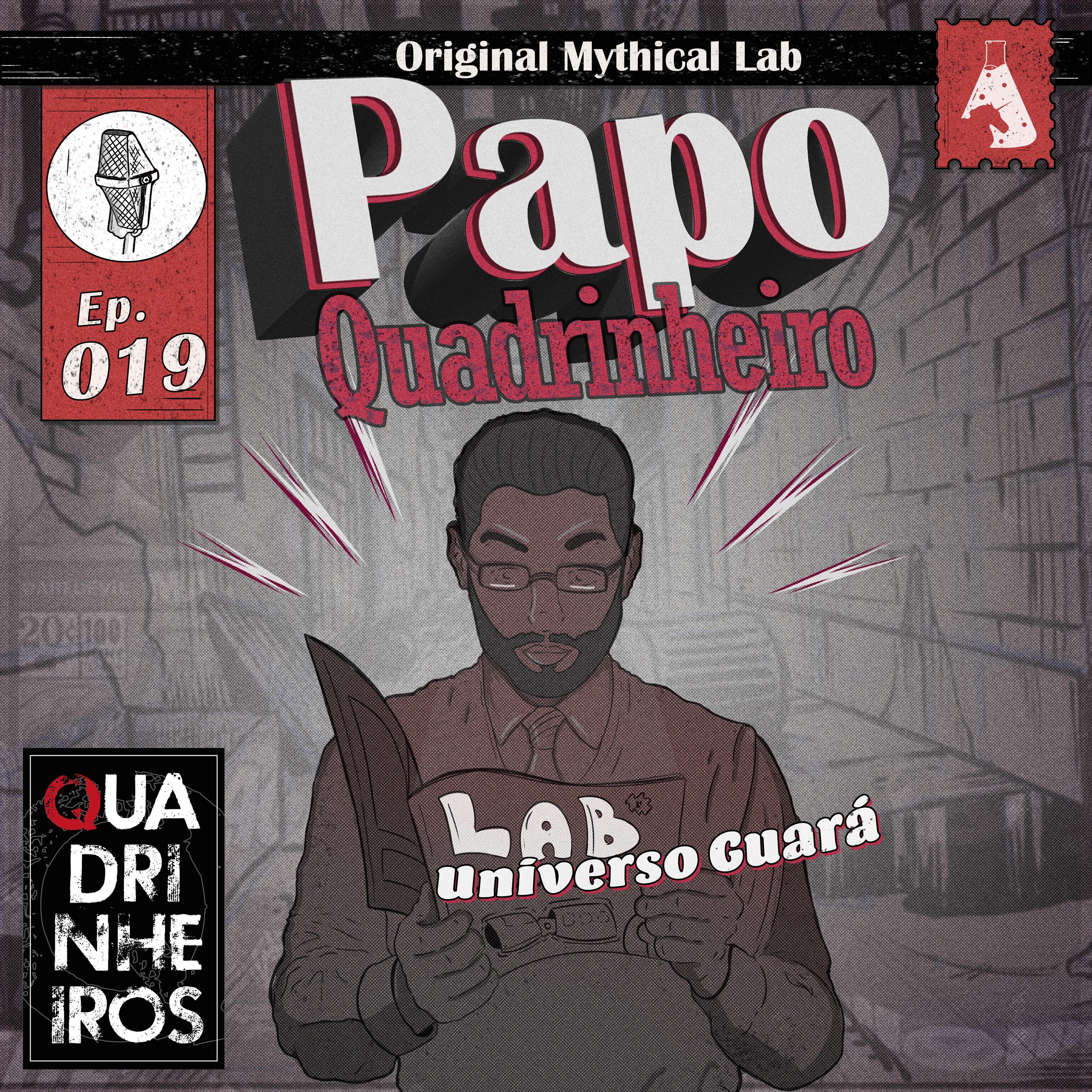 Universo Guará papo quadrinheiro podcast