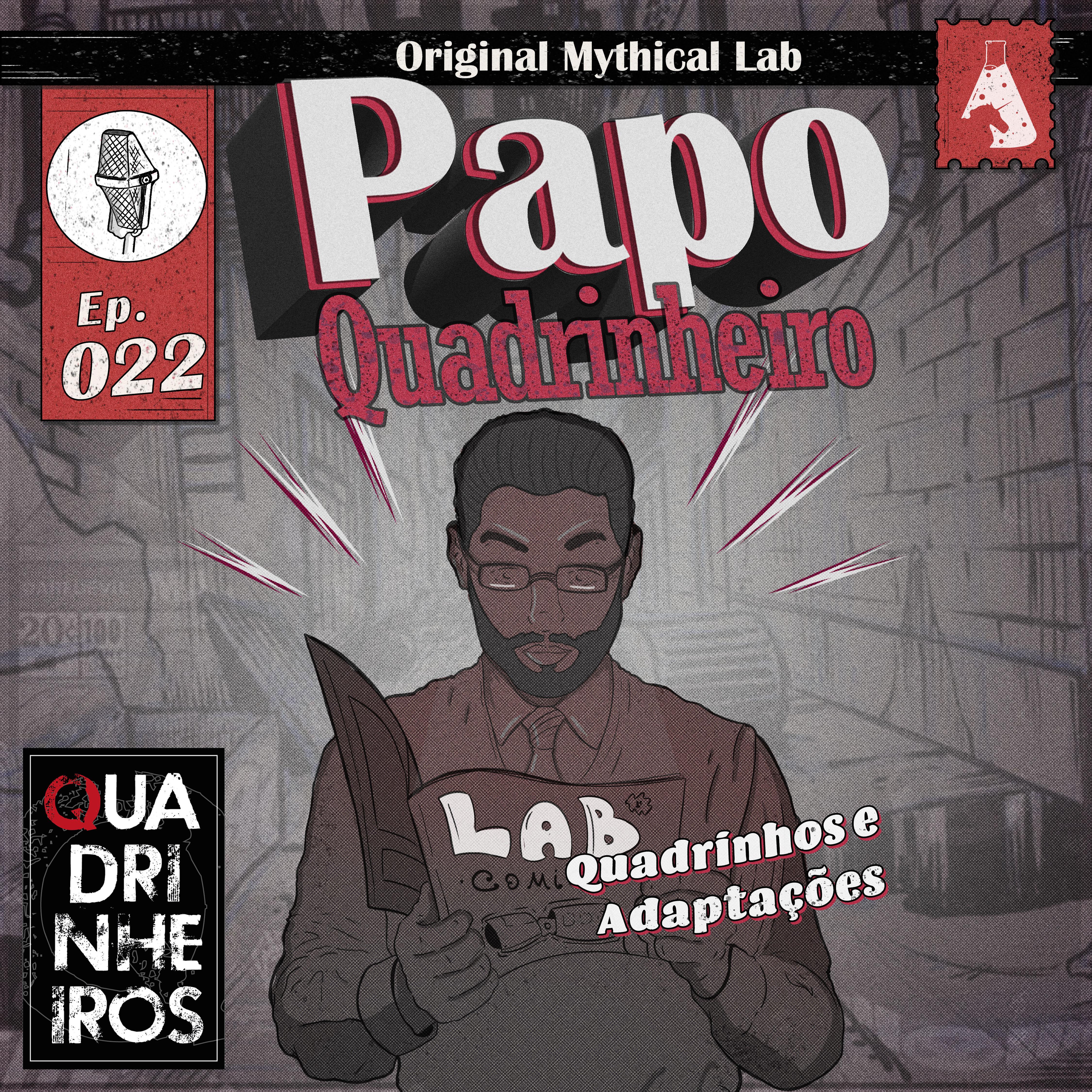 Quadrinhos e Adaptações papo quadrinheiro podcast
