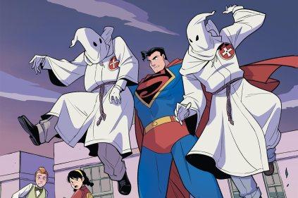 superman contra a kkk