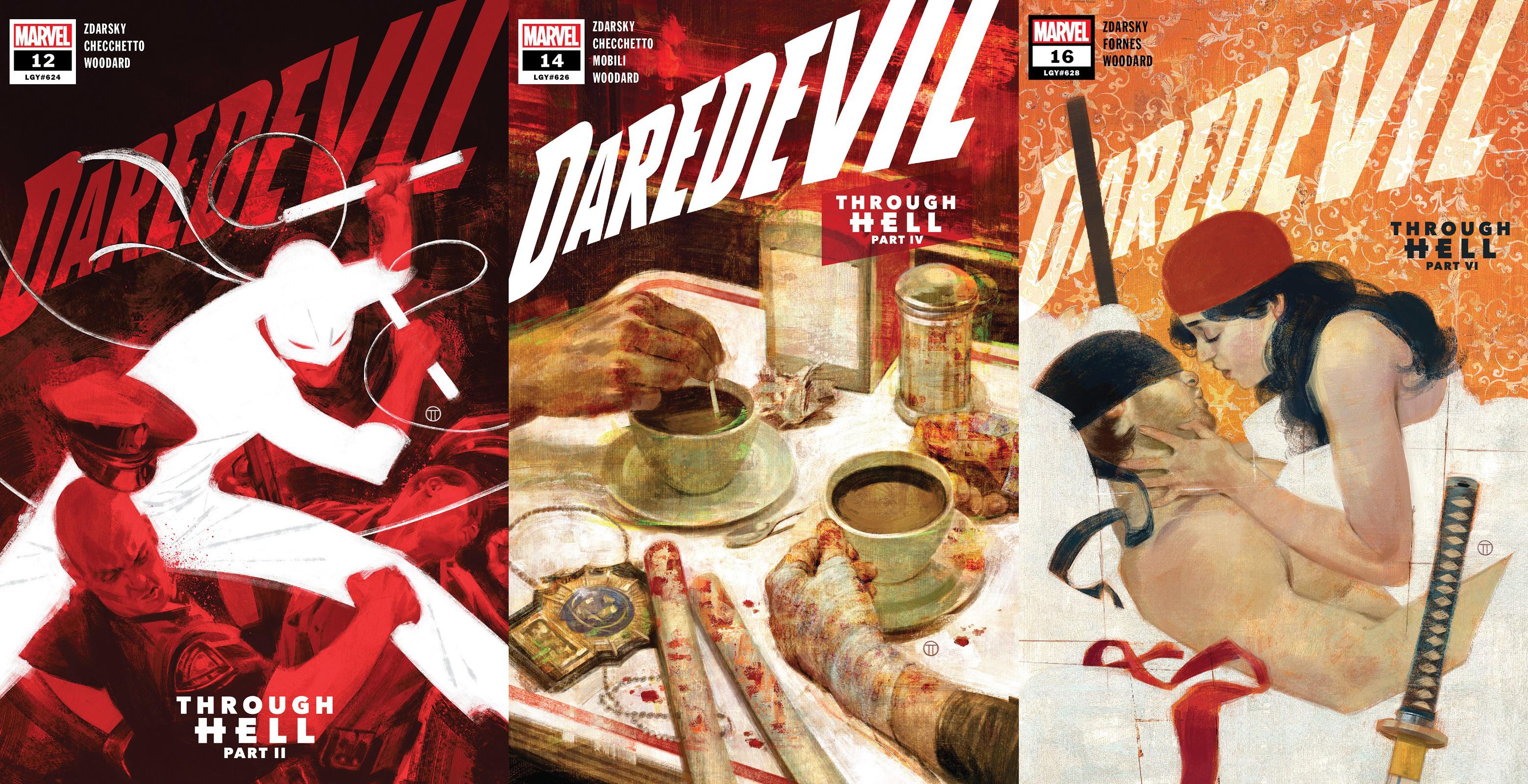 Daredevil Zdarsky covers