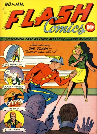 flash comics quadrinhos jay garrick joel ciclone