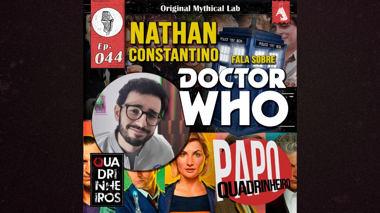 papo quadrinheiro podcast doctor who